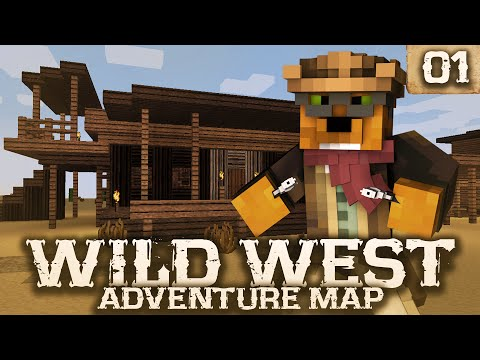 Minecraft - Wild West Survival Ep. 1 - Taming a Horse