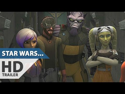 STAR WARS REBELS Season 3 Trailer (2016)