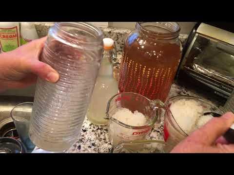 Fizzy Kefir Water First Ferment