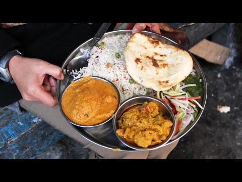 Kolkata Street Food - AMAZING Indian Vegetarian Meal on Decker's Lane!