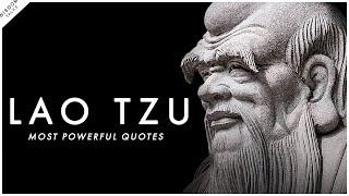 Lao Tzu - Most POWERFUL Quotes | WisdomTalks
