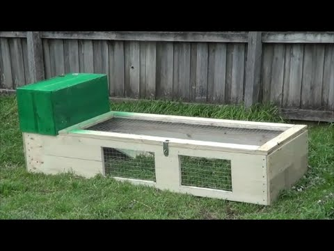 Cheap D.I.Y Rabbit Guinea Pig Hutch/Run