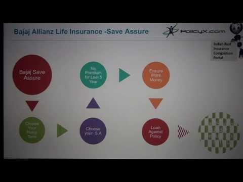 Bajaj Allianz Save Assure | Endowment Plans | Savings Plan | PolicyX