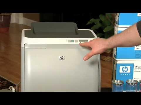 Override Mode on HP-CLJ-2600n