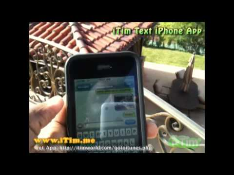 Receive MMS with iTim Nickname on iPod, iPhone 2G or 3G/3GS