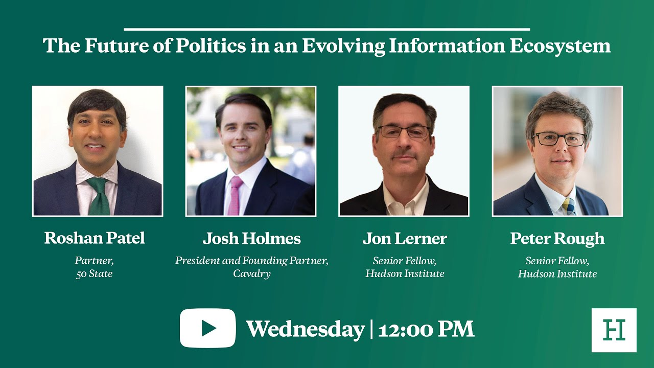 The Future of Politics in an Evolving Information Ecosystem