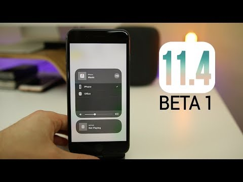 iOS 11.4 Beta 1 - It's BACK! (What's New)
