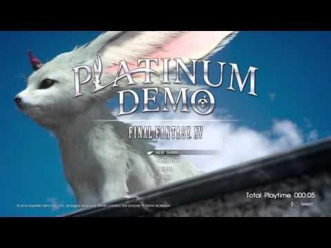 FFXV DEMO | Main Menu Theme