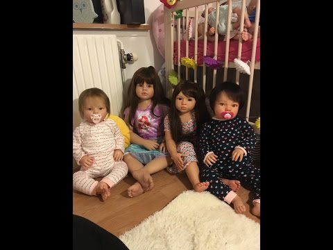 Getting My 4 Big Girls Ready For Bed!