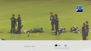 Latest Srilanka Cricket team practice at National Stadium Karachi