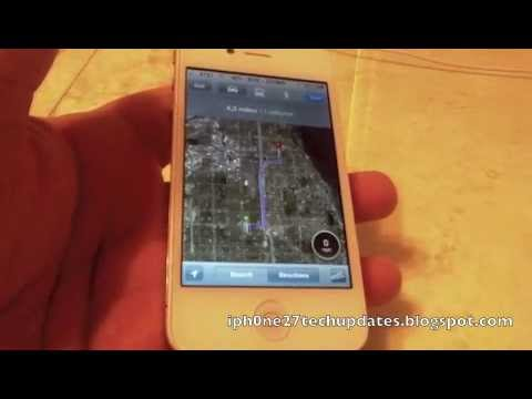 Speed for Maps Tweak in Cydia for iPhone 4 iOS 4