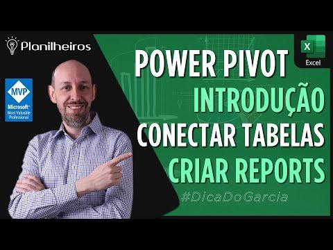 EXCEL 2013 - Powerpivot - Introdução - Conectando tabelas e gerando relatórios