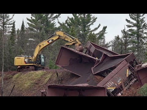 TRRS 514: LS&I Ore Train Derailment Cleanup - 02 Nov 2017