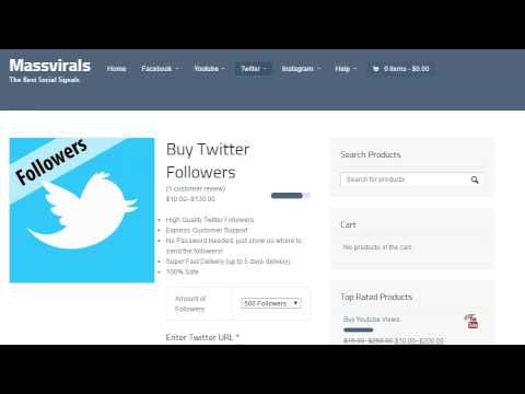 How To Get Twitter Followers | Easily Get Twitter Followers