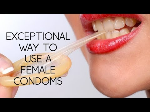 EXCEPTIONAL WAY TO USE FEMALE CONDOMS WITH IMAGES AND BEST EASIEST PROCEDURE FOR A FEMALE EVER  !