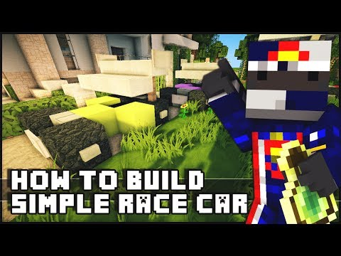 ► Minecraft : How to Make - Small Simple Race Cars