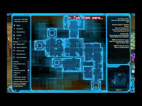 SWTOR - Datacron Location Guide - Balmorra (Republic)