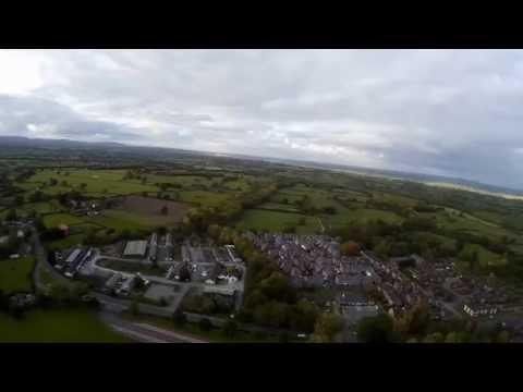 Quadcopter Flight over Penley, Wrexham