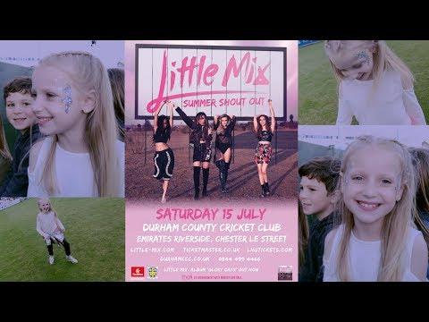 Little Mix Summer Shout Out Show Durham VLOG | LoveFings