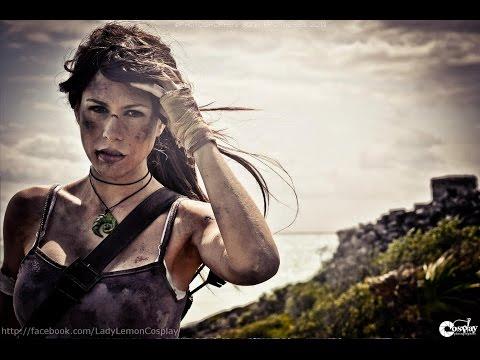 Express Make Up Turorial -  Lara Croft - Tomb Raider Reborn