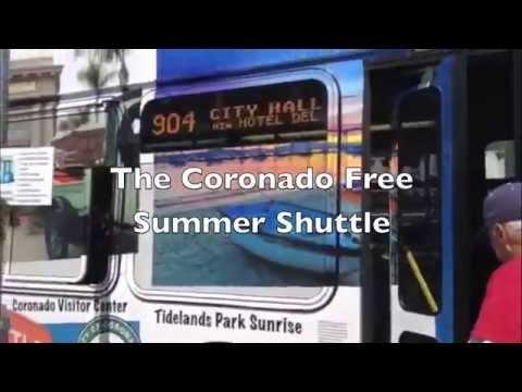 Coronado's FREE Summer Shuttle Bus Service 2014