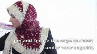 InStyleHijab: Sobia's Signature Dupatta Hijab Style