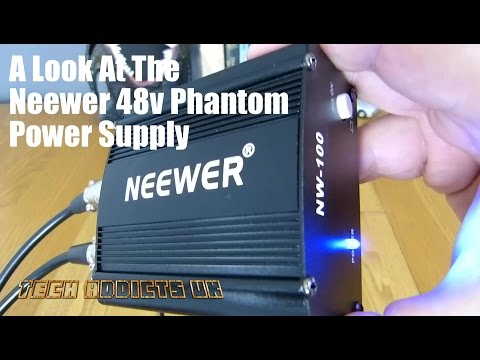 A Look At The Neewer 48v Phantom Power Supply