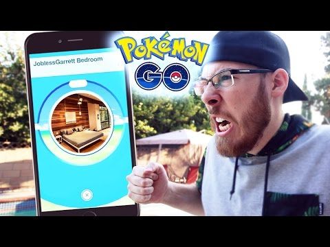 POKEMON GO - THIS HAS TO BE CHEATING! POKEMON GO IN BED! (Pokémon  GO)