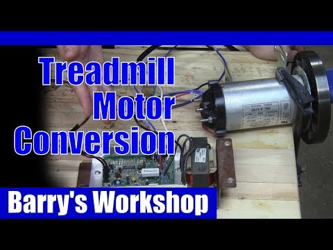 Simple Variable Speed Treadmill Motor Electrical Conversion