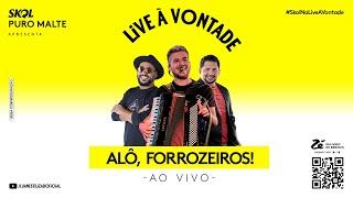 Live - Luan Estilizado, Raí Saia Rodada, Zezo Potiguar - À Vontade | #FiqueEmCasa e Cante #Comigo