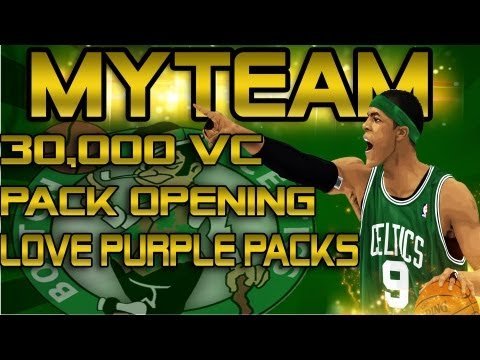 NBA 2K13 MyTEAM - 30,000 VC Pack Opening!! | FINALLY My Luck Is Getting Better!!
