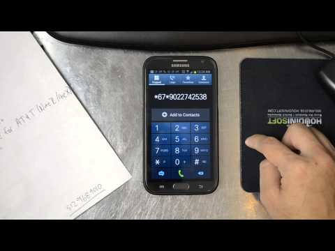 Setting Up Call Forwarding for Google Voice on the Samsung Galaxy Note 2 (AT&T)