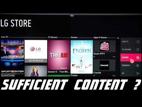 LG Smart TV App Store