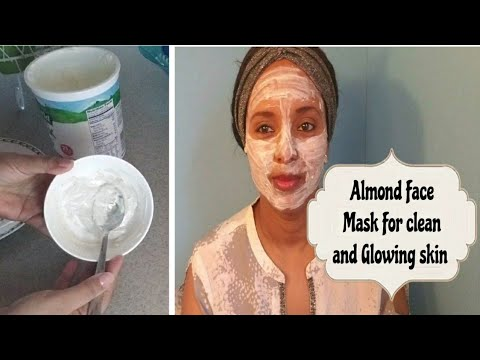 Almond Face Mask For clean and Glowing Skin!