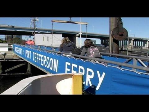 Get An Inside Look at the Port Jefferson - Bridgeport Ferry