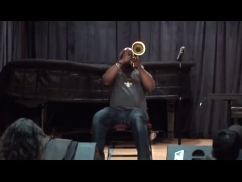 Terence Blanchard - Trumpet Clinic