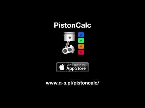 PistonCalc: Engine calculator with unit conversion v. 1.3