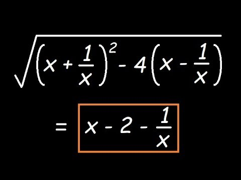 Square root of an Algebraic Expression | Division Method | Algebra |