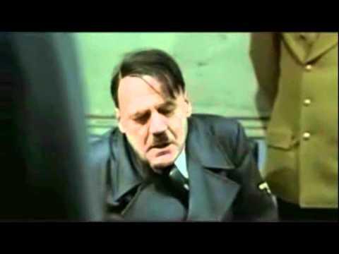 Hitler's reaction after hearing Rebecca Black's