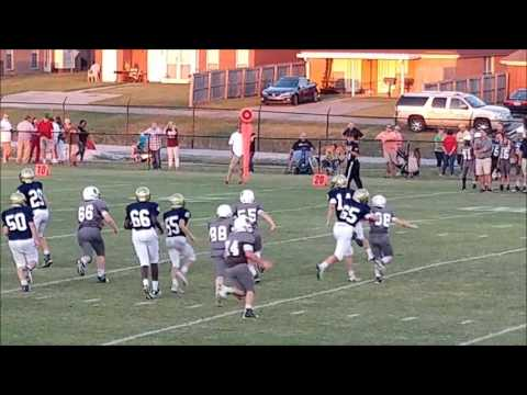 Patrick McGlon - 7th Grade QB highlights (2016) - St James Trojans Middle School Football