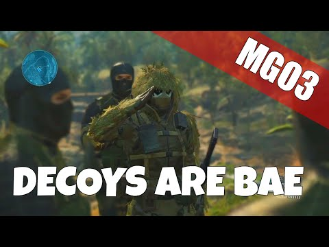 Scout Tips & Tricks - How to Use Decoys | Metal Gear Online 3