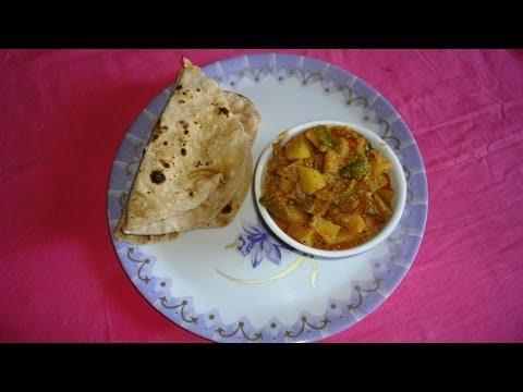 How to Cook Easy & Simple Aloo Capsicum Korma (బంగాళదుంప కాప్సికం కుర్మా) .:: by Attamma TV .::
