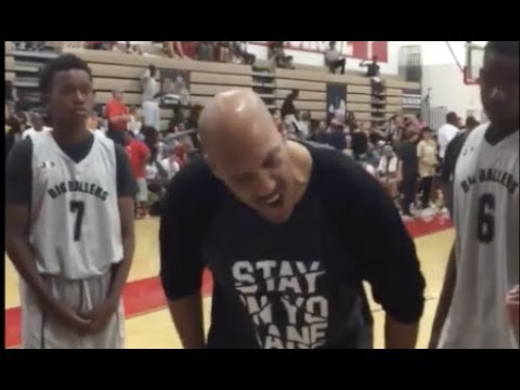 Lavar Ball Chews Out His AAU Team for Losing by 52
