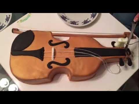 best cake-violin ever