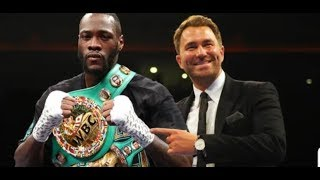 Download EDDIE HEARN'S INTERVIEW SIGNING WILDER ?WITH THE BOXING VOICE Video