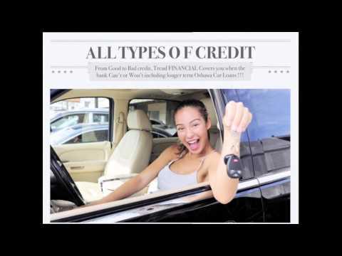 Car Loans Oshawa - for Good Credit, Bad Credit, Specialty Vehicles
