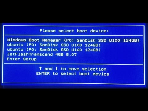 Remove old EFI entries from Boot Menu