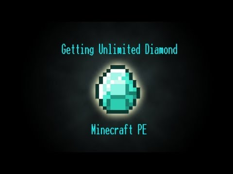 How To Get Unlimited Diamond Emerald Gold - Minecraft PE v0.9.5