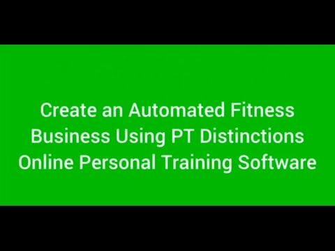 Online Personal Training Software - How to Create an Automated Fitness Coaching Product in Under an