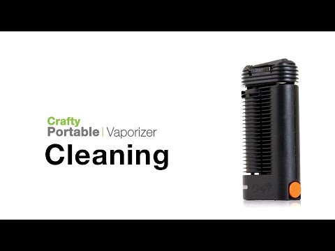 Crafty Vaporizer Cleaning Tips - TVape